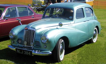 A Sunbeam-Talbot 90 won the Monte Carlo Rally in 1955 Sunbeam Talbot photographed June 2008.JPG
