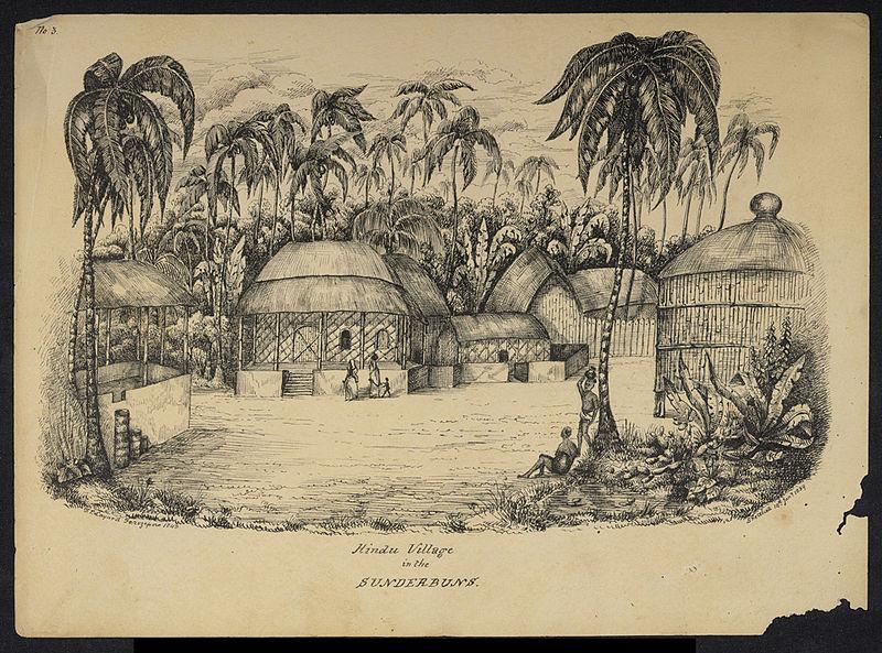 File:Sunderbans village 1839.jpg