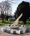 Sundial sculpture, St Austell - geograph.org.uk - 1131653.jpg