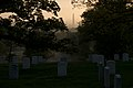 Sunrise at Arlington National Cemetery (34264387966).jpg