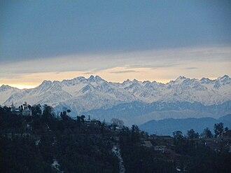 History of the Punjab - Sunrise in Himalayas, North Punjab