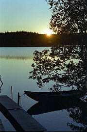 Sunset at Håltesjön 2.jpg
