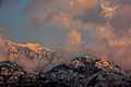 Sunset on snowy Mountains Swatvalley.jpg