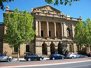 Supreme Court of South Australia - The Supreme Court of South Australia building from Victoria Square.