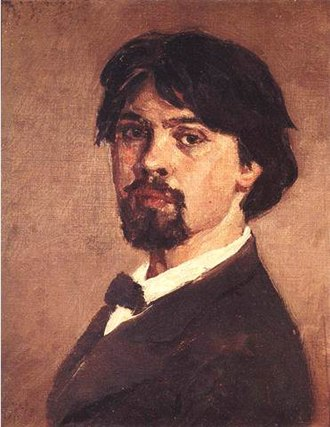 Vasily Surikov - Self-portrait (1879)