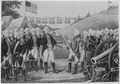 Surrender of Cornwallis at Yorktown, Virginia, October 19, 1781, by which over 7,000 British and Hessians became prisone - NARA - 532883.tif