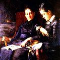 Susan Macdowell Eakins, Two Sisters, 1879.jpg