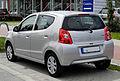 Suzuki Alto 1.0 Comfort (VII) – Heckansicht, 17. Juli 2011, Düsseldorf.jpg