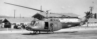 Phù Cát Air Base - VNAF UH-1 at Phù Cát c.1970