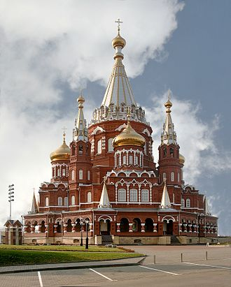 Russian Revival architecture - St. Michael's Cathedral