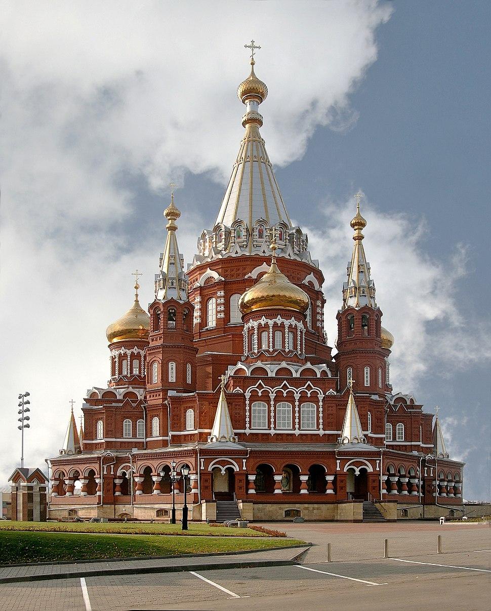 Svyato Mihailovsky Cathedral Izhevsk Russia Richard Bartz Alt