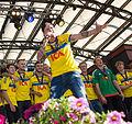 Sweden national under-21 football team celebrates in Kungsträdgården 2015-26.jpg