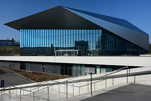 École Polytechnique Fédérale de Lausanne - The SwissTech Convention Center.