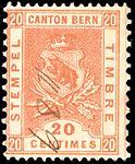 Switzerland Bern 1895 revenue 20c - 53 VIII-95.jpg