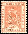 Switzerland Bern 1895 revenue 20c - 53 VIII-95.jpg