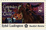 Sybil Ludington stamp