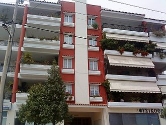 Agia Paraskevi - Block of apartments at the Kontopefko area.