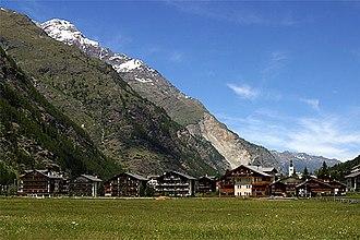 Täsch - Täsch village
