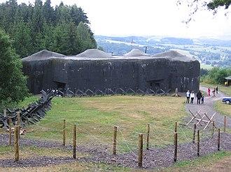 Czechoslovak border fortifications - T-S 73 Polom