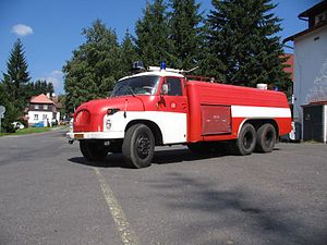 Tatra 138 - T138 CAS firefighting vehicle