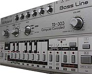 The Roland TB-303 bass synthesizer