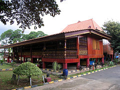 TMII South Sumatra Pavilion Limas House