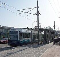 Tacoma Link at Tacoma Dome Station.jpg