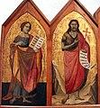 Taddeo gaddi, madonna col bambino e quattro santi, 1330-40 ca., da s. jacopo a voltiggiano 02.JPG