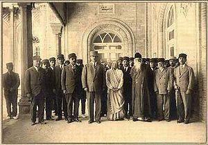 Rabindranath Tagore meets members of Iran's pa...
