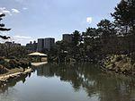 Takueichi Pond and Seifukan Teahouse in Shukkei Garden 4.jpg