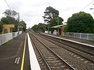 Tallong railway station