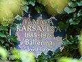 Tamara Karsavina plaque.jpg