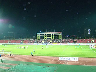 Tancheon Sports Complex - East Stand before canopy installation