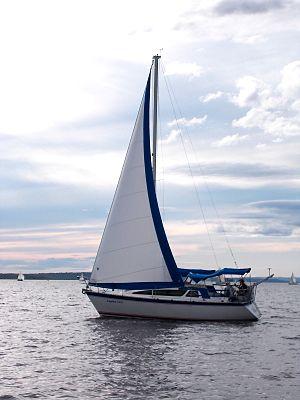 Tanzer 29 - Image: Tanzer 29 sailboat Caprice 2000 2399