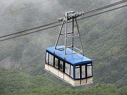 立山ロープウェイの搬器