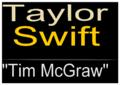Taylor Swift Tim McGraw logo.png