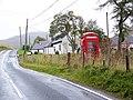 Telephone box near the Spittal of Glenshee - geograph.org.uk - 1537210.jpg