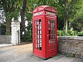 Telephone kiosk, Old Road - geograph.org.uk - 1496836.jpg