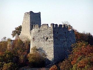 Tematín castle in Slovakia