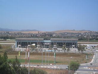 Jijel Ferhat Abbas Airport - Image: Terminal de l'Aéroport Ferhat Abbas, Taher (Algérie)