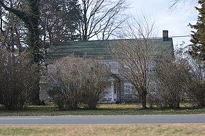 William Tharp - Tharp's Farmington home