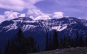 The Thunderer (Wyoming) - From Soda Butte