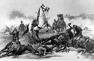 Battle of Beecher Island - Image: The Battle of Beecher Island
