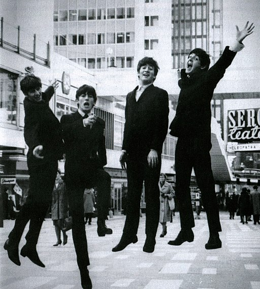 The Beatles i Hötorgscity 1963