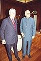 The British Secretary of State Mr. Jack Straw calls on the Deputy Prime Minister Shri L.K. Advani in New Delhi on February 06, 2004.jpg