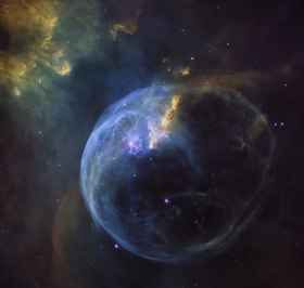 The Bubble Nebula - NGC 7635 - Heic1608a.tif
