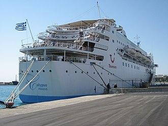 Transocean Tours - Image: The Calypso cruise ship at Rhodes, Greece 2008