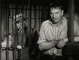 (v.l.n.r.) Jackie Cooper, Edward Brophy en Wallace Beery in The Champ