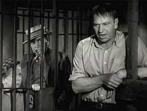 The Champ (1931 film) - Jackie Cooper, Edward Brophy, and Wallace Beery in The Champ