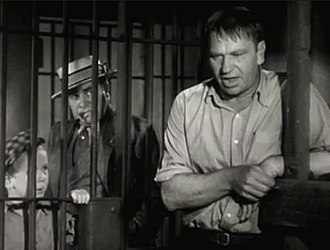 Edward Brophy - Edward Brophy (second from left) with Jackie Cooper and Wallace Beery in The Champ